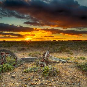 Final resting place by David Morris - Landscapes Sunsets & Sunrises