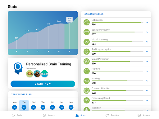 CogniFit Brain Fitness 4.1.3 screenshots 11