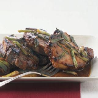 Hoisin and Honey Glazed Pork Chops