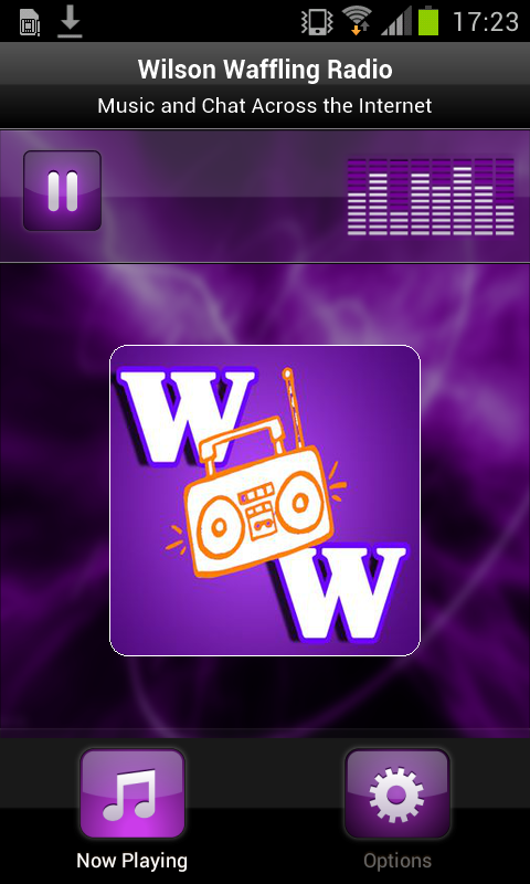 Wilson Waffling Radio- screenshot