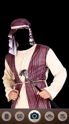 Arab Man Fashion Suit