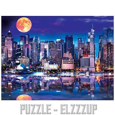 [風景類] NYC-Supermoon Reflections砌圖 750p