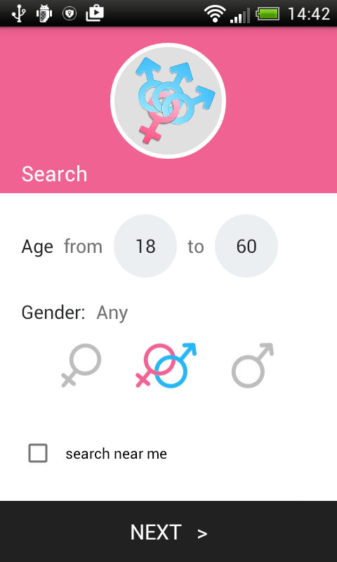 TriChat - online dating chat screenshots