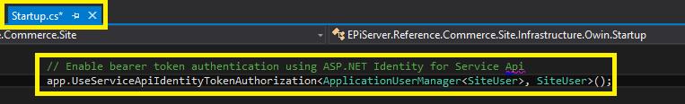 Add AspNet Identity config to startup.cs