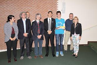"""Photo: Piccolo Agone Placidiano 2015: Vincitore per il Liceo """"Lorenzo Rocci"""" di Passo Corese di Fara in Sabina (RI): Potito Valle Dell'Olmo (2° anno)"""