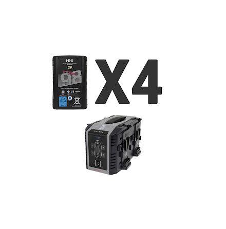Endura 4x DUO-C98 + 1 x VL-4Se
