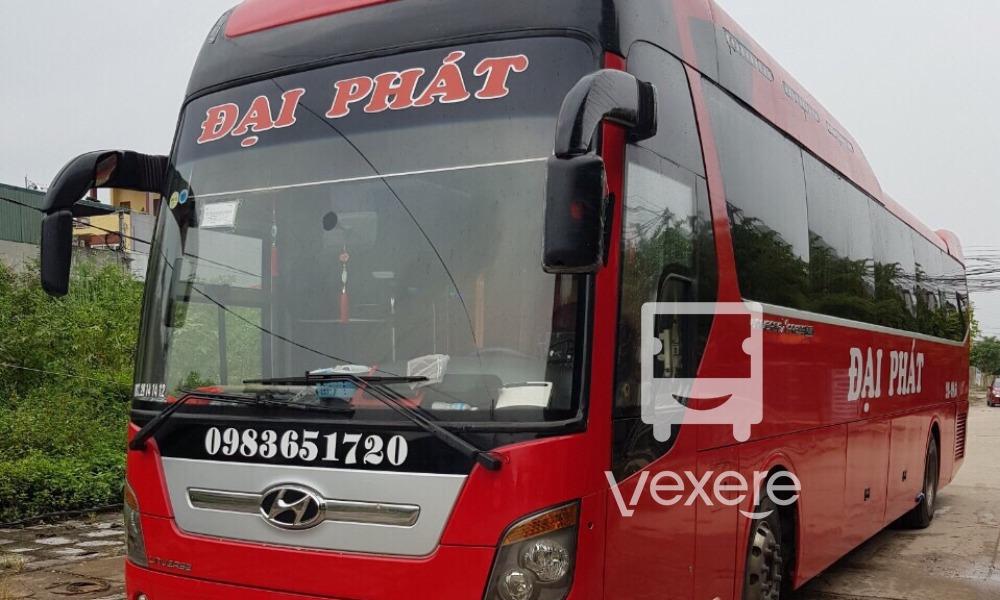 Xe Đại Phát từ Hà Nội đi Móng Cái