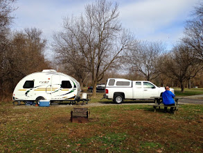 Photo: First trip out with the Pod!! Clifty Falls State Park in S. Indiana