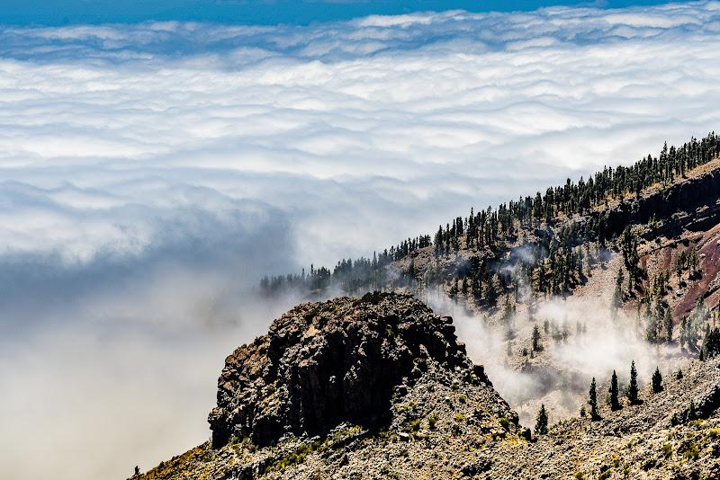 Tappeto di nuvole ai piedi del Teide di jessica_pronesti