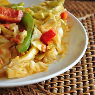 Cabbage Peanut Stir Fry Recipe