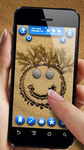 Рисование на песке для планшетов на Android