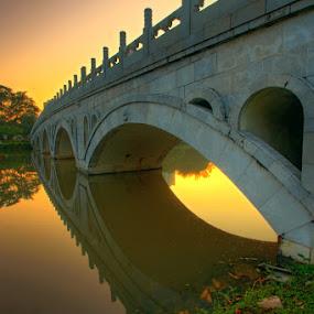 The Japanese Bridge by Alit  Apriyana - Buildings & Architecture Bridges & Suspended Structures