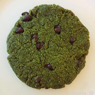 Matcha Chocolate Chip Cookies (GF & V).