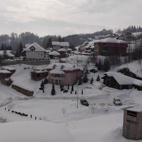 Winter  by Bratislav Stamenković - City,  Street & Park  Neighborhoods ( mountain, winter, snow, ladnscape, weather )