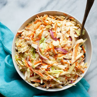 Sweet and Creamy Coleslaw Recipe