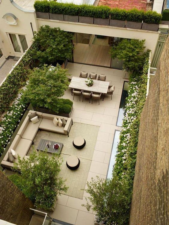 Thiết kế biệt thự không gian xanh