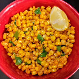 Masala Corn Recipe (Spicy Sweet Corn).