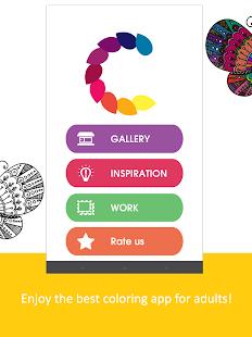 Coloring Adult Colouring Book Screenshot Thumbnail
