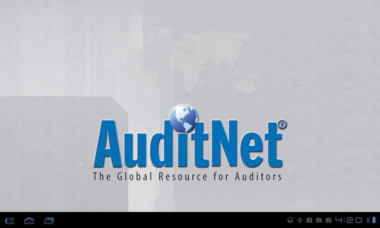 AuditNet®- screenshot