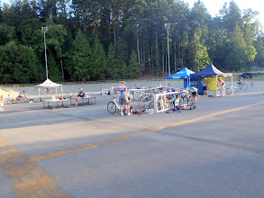 Photo: Day 2 at the picturesque Westshore Velodrome.