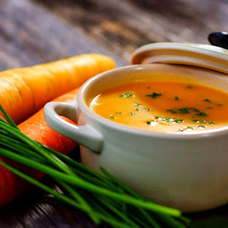 Low-calorie Carrot Soup