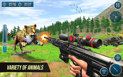 Code Triche Wild Deer Hunting Adventure :Animal Shooting Games mod apk screenshots 2