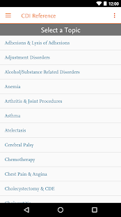 Elsevier CDI Reference- screenshot thumbnail