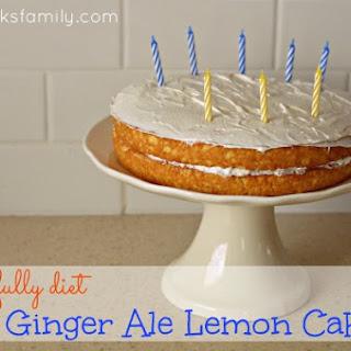 Ginger Ale Lemon Cake
