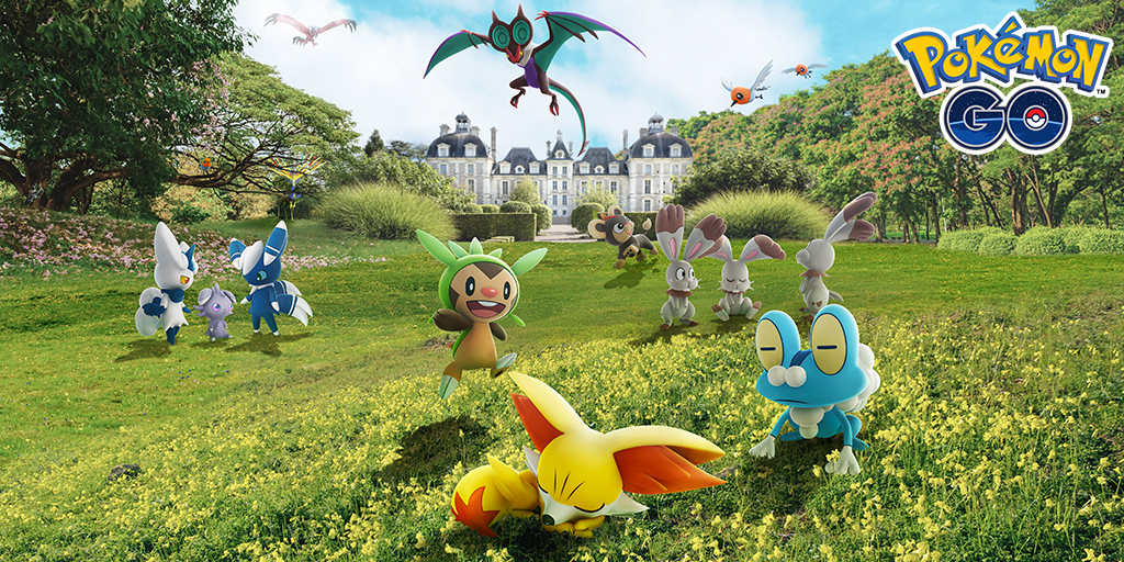 Celebrate the arrival of Pokémon originally discovered in Kalos with a special event!
