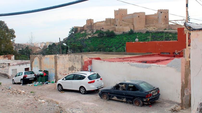 El barrio popularmente conocido como 'la Joya' se extiende al norte de la Chanca.
