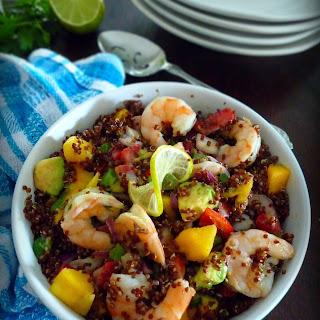 Tropical Quinoa Salad with Shrimp