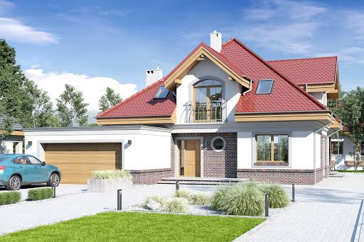 projekt Nowa II z garażem 2-st. A