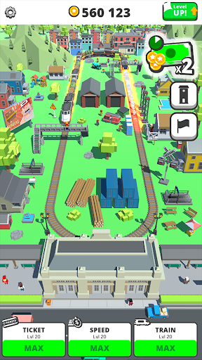 Idle Trains Screenshot