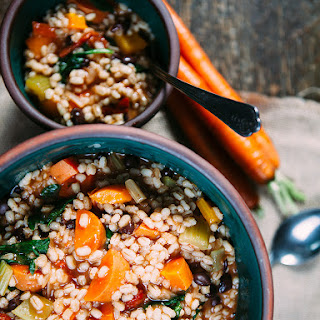 Vegan Vegetable Barley Stew