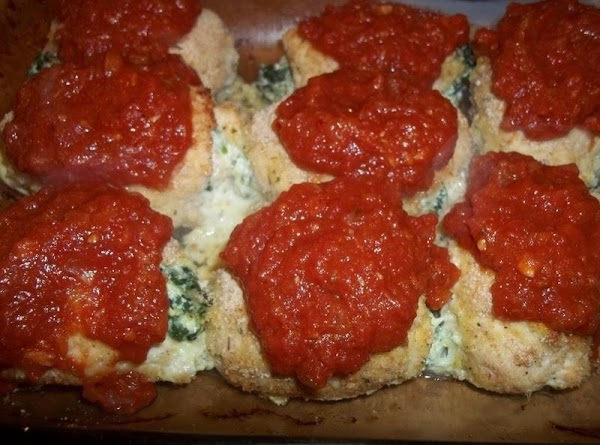 Bake for 25 - 30 minutes.  Remove from oven, top each cutlet with...