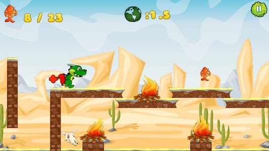 Little Dragon Run screenshot 2