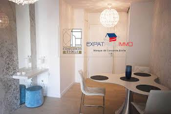 Appartement meublé 2 pièces 42,24 m2