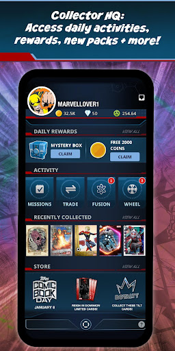MARVEL Collect! by Toppsu00ae Card Trader 12.1.0 screenshots {n} 4
