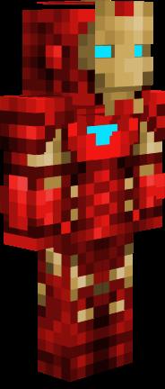 Cute Minecraft Girl Wallpaper Iron Man Tony Stark Civil War Nova Skin