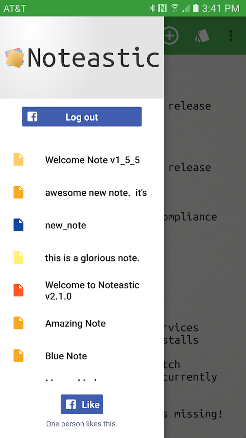 Noteastic Beta- screenshot