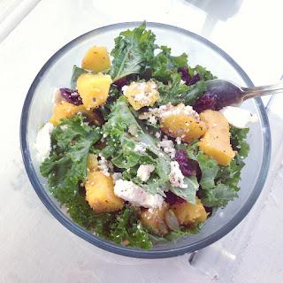 Kale Squash Salad