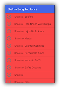 Shakira Try Everything Musica screenshot 1