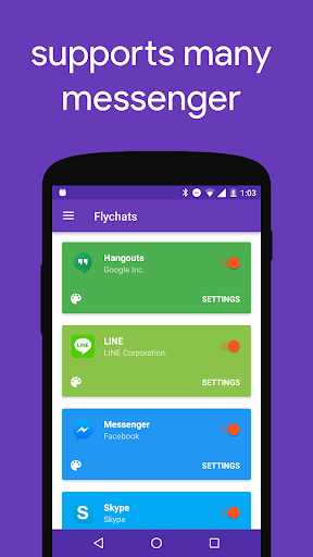 Flychat 1.11.RC2 Screenshots 4