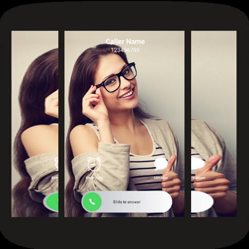 Full Screen Caller ID + Dialer