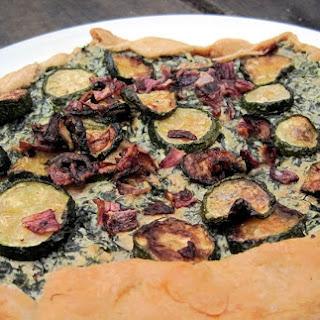 Squash-Kale-Ricotta Galettes.