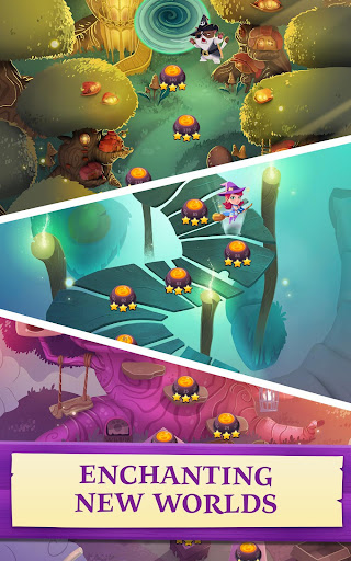 Bubble Witch 3 Saga screenshot 10