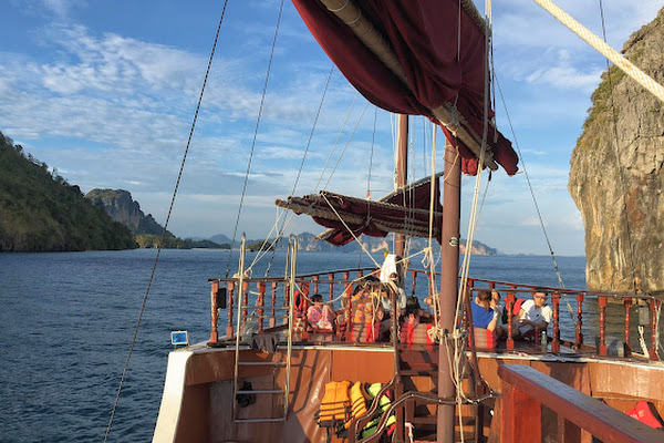 Admire the beauty of the Andaman Sea just a touch of Railay Beach