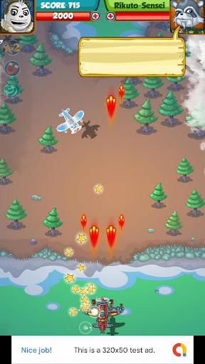 Télécharger Panda Air Space Commander APK MOD (Astuce) screenshots 5