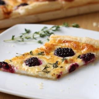 Blackberry and Goat'S Cheese Tart Recipe