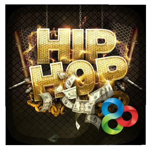 Hiphop Go Launcher Theme